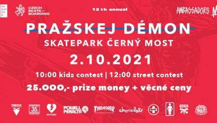 Pražskej Démon 2021 proběhne 2.10.!