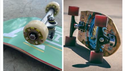 Jaký je rozdíl mezi skateboardem a longboardem?