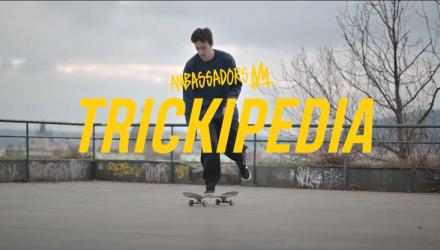 Kristián Nguyen | Ambassadors Trickipedia: backside ollie