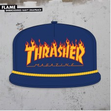 Kšiltovka Thrasher BTS 2018 Flame Rope Snapback