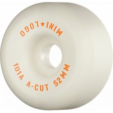 "Kolečka Mini Logo A-CUT ""2"" 52mm X 101 WHITE 2020"