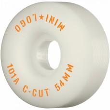 "Kolečka MiniLogo C-CUT ""2"" 54mm X 101 WHITE 2020"