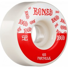 BONES Wheels 100´s #13 52MM OG FORMULA V4 WIDE White 2020