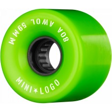 Kolečka Mini Logo A.W.O.L.  Green 59mm 80A