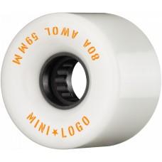 Kolečka Mini Logo A.W.O.L. White 59mm 80A