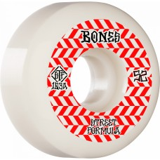 BONES WHEELS STF Patterns Sidecut Skateboard Wheels V5 52mm 103a 4pk