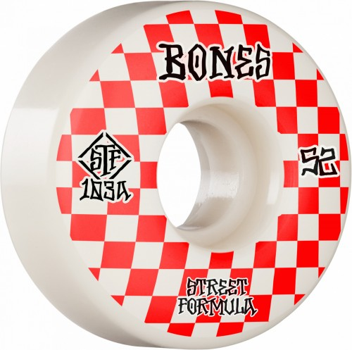 BONES WHEELS STF Patterns V3 SLIMS 52mm 103a 4pk