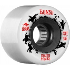 BONES ATF Rough Riders Wranglers 56mm Skateboard Wheel 4pk White