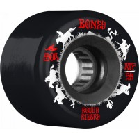 BONES ATF Rough Riders Wranglers 59mm Skateboard Wheel 4pk Black