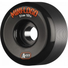 Kolečka Mini Logo A-cut Wheel 51mm 101a Black