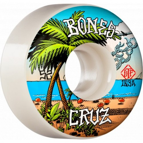 Kolečka BONES WHEELS PRO STF Cruz Buena Vida 53mm V2 103a