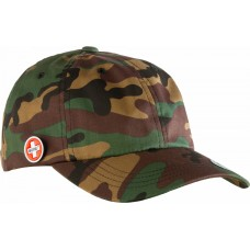 kšiltovka BONES Bearings Dad Cap Circle Pin Camo