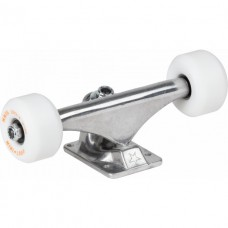 "Trucky Mini Logo 8.0"" RAW + ML Bearings + A-cut 53mm x 101a White Wheels"