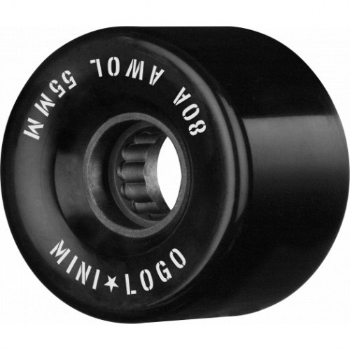 Kolečka Mini Logo A.W.O.L. Skateboard Wheels 55mm 80A Black