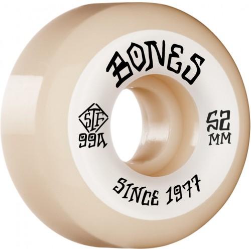 Kolečka BONES Heritage Roots STF V5 Sidecut 99a  (52mm,53mm, 54mm)