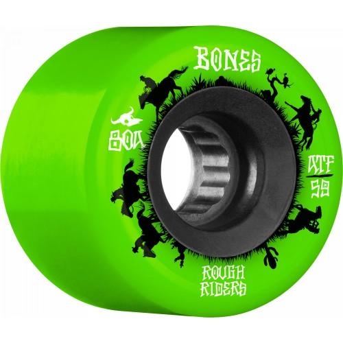 BONES WHEELS Rough Riders Wranglers Green 59mm ATF