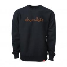 Crewneck Chocolate Heavy Chunk Black