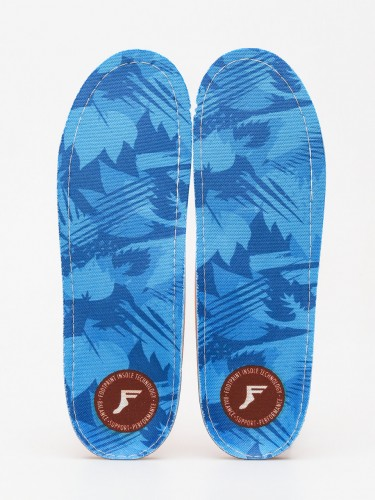 Vložky do bot Footprint Blue Camo Kingfoam Orthorics