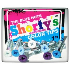 Shorty's šroubky 1'' ColorTips Blue Note