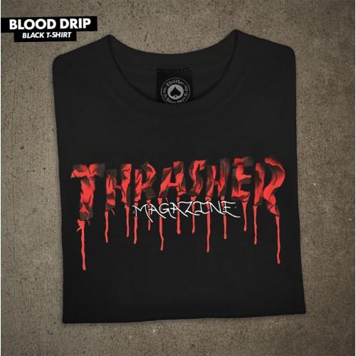 Triko Thrasher BTS21 Blood Drip Black