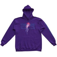 Mikina Thrasher x Atlantic Drift Hood Purple