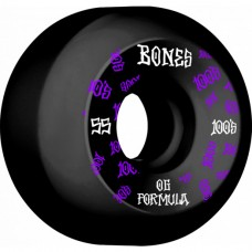 BONES Wheels 100´s #3 55MM O.G. FORMULA V5 SIDECUT Black 2020