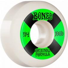 Kolečka BONES 100's V5 Sidecut White 54mm SP21