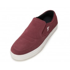 Boty Footprint Citrus Slip On Burgundy