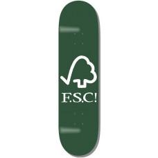 Deska F.S.C. Forest Logo Green