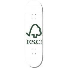 Deska F.S.C. Forest Logo White