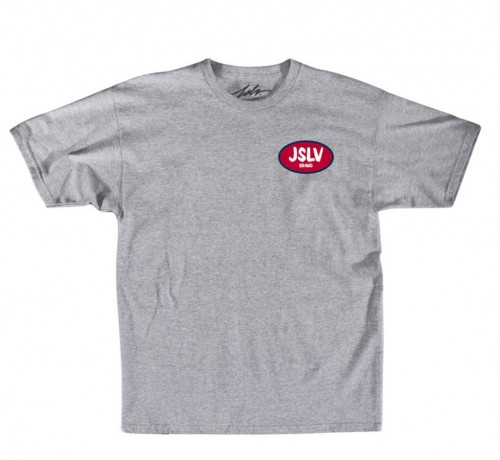 JSLV triko CROWN SELECT TEE - ATHLETIC HEATHER