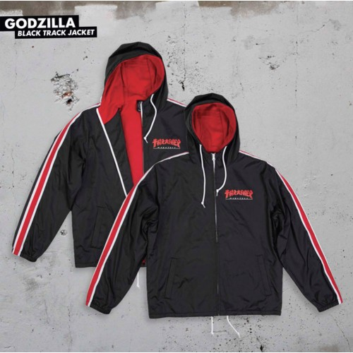 Bunda Thrasher Godzilla Track Jacket Holiday 19