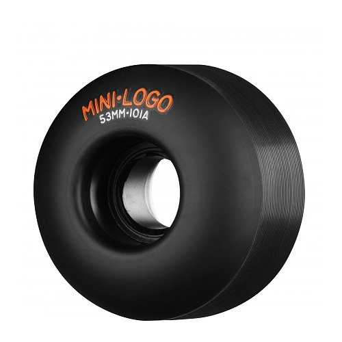 Kolečka MiniLogo 53mm 101A Black