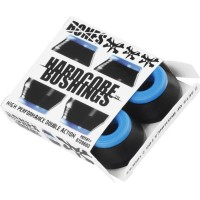Bushings Bones SOFT blue/black (4 ks)