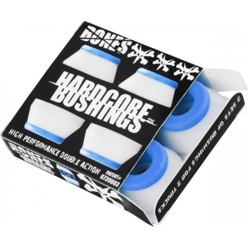 Bushings Bones SOFT blue/white (4 ks)